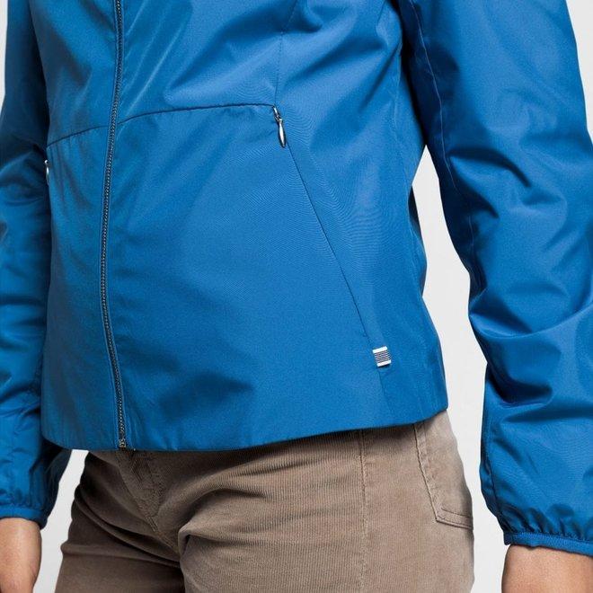Wind Shielder Hooded Jacket  - Blue