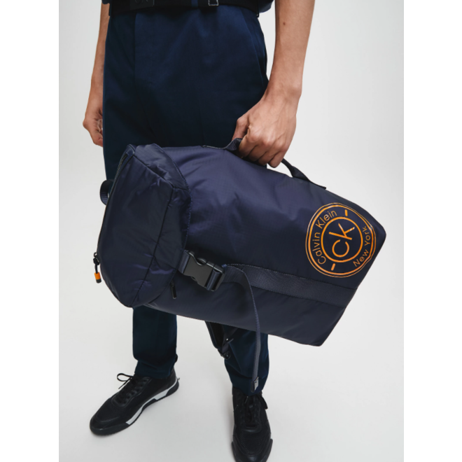 Flap Backpack - Blue