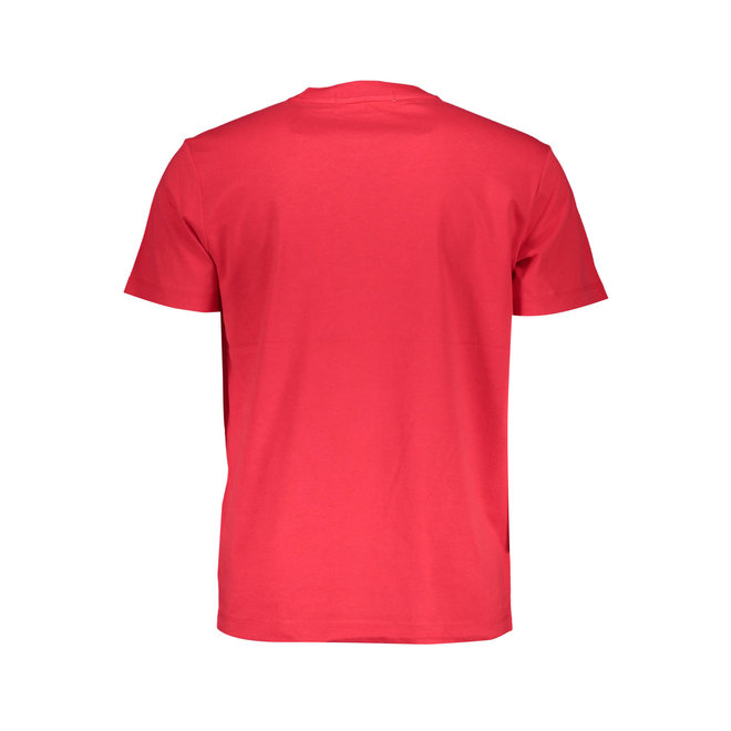 Recycled Cotton T-Shirt - Red