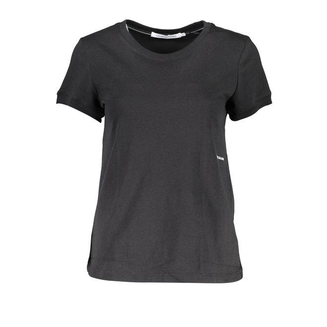 Cotton T-Shirt - Black