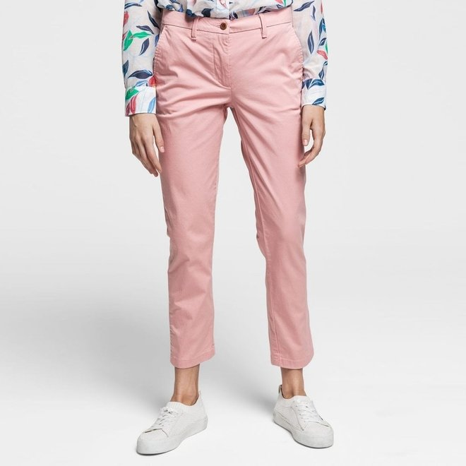 Classic Cropped Chino - Pink