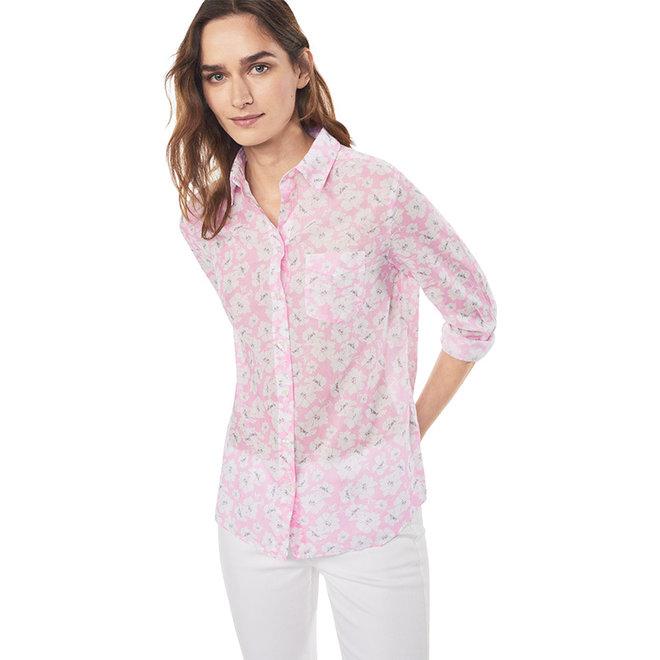 Crisp Island Flower Shirt - Pink