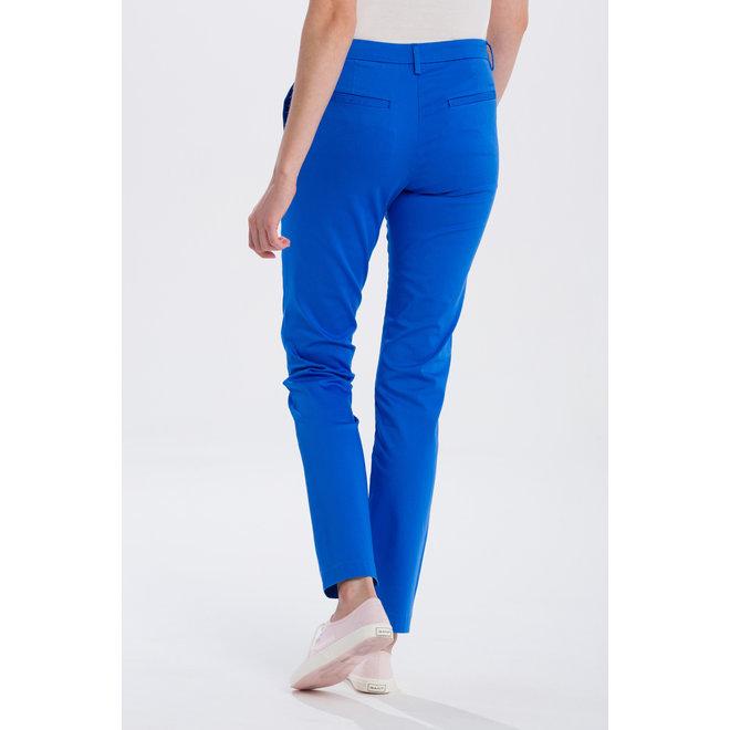 Satin Slack trousers - Palace Blue