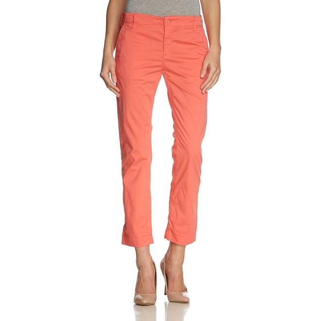 Classic Washed Cropped Chino