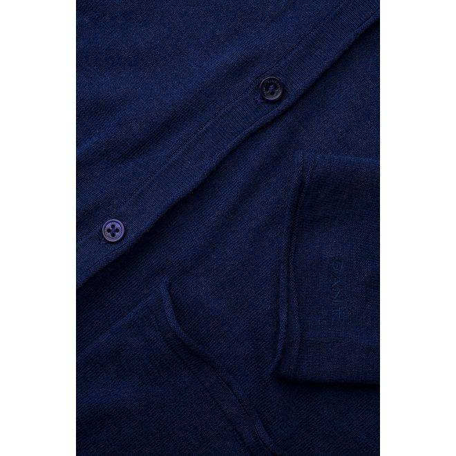 Fine Knit Linen Cardigan