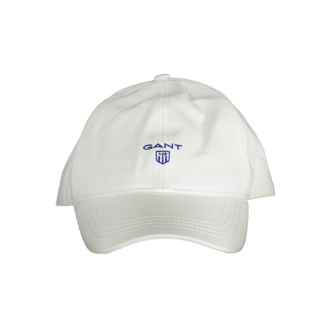 Contrast Twill Cap - White