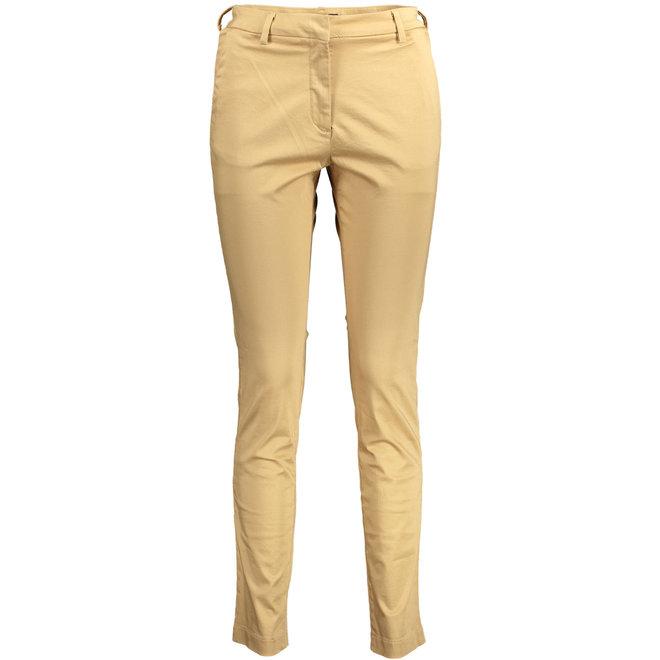 Satin Slack trousers - Beige