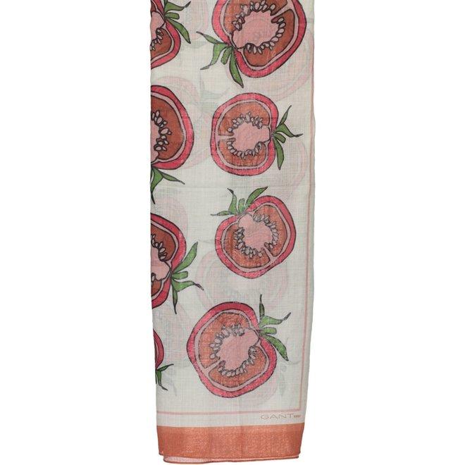 Tomato Scarf Women