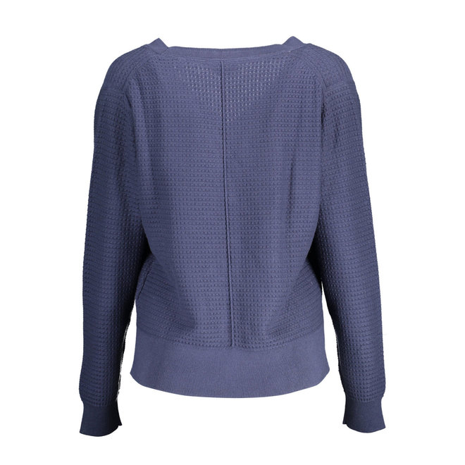 Blue Textured Cardigan women