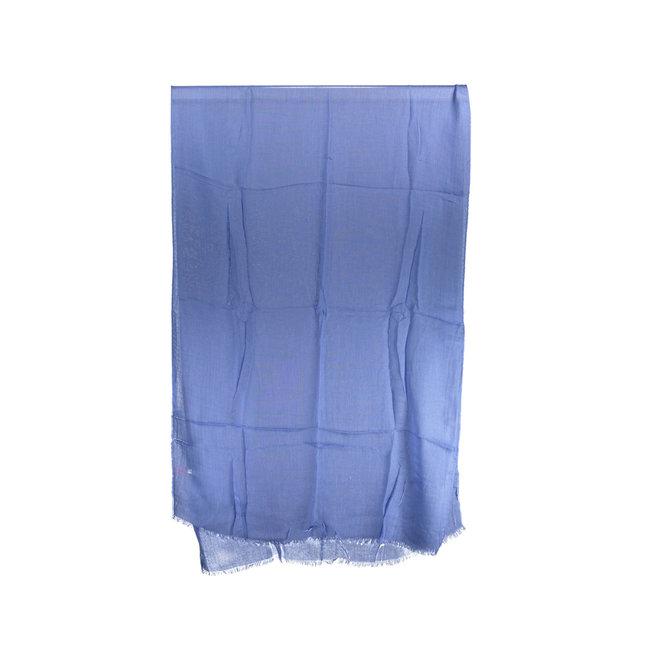 Blue scarf men