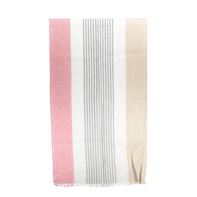 Block Stripe Scarf men