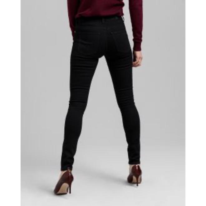 Skinny Fit Super Stretch Jeans - Black