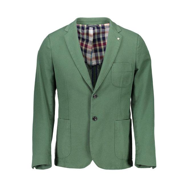 Classic Cotton  Blazer - Green