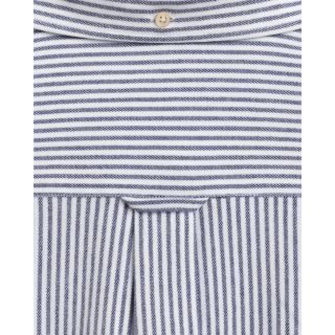 Regular Fit Tech Prep™ Stripe Piqué Shirt