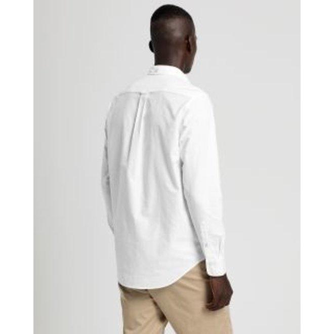 Regular Oxford Men's Shirt - White