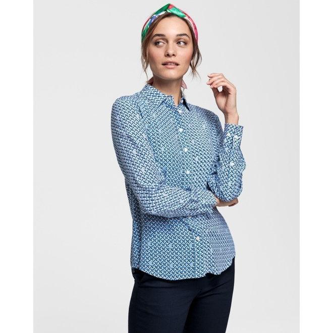 Signature Weave Shirt Blouse women
