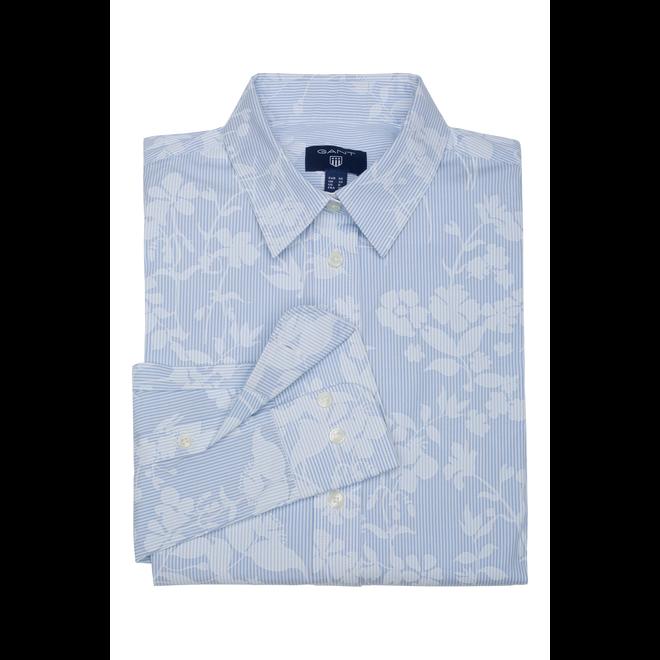 Floral Banker Shirt women