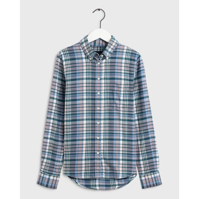 Winter Faded Twill Check Shirt