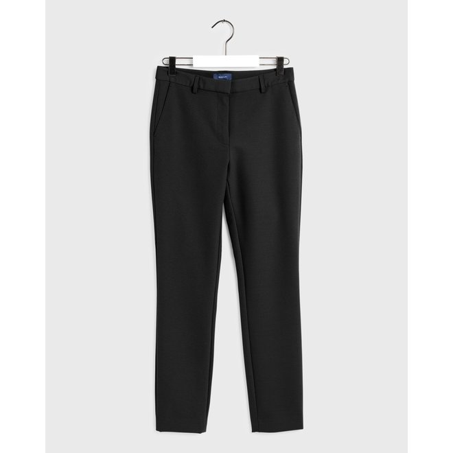 Tapered Gant Pants - Black
