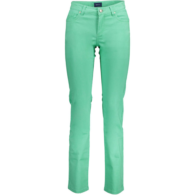 Straight Soft Jeans - Green