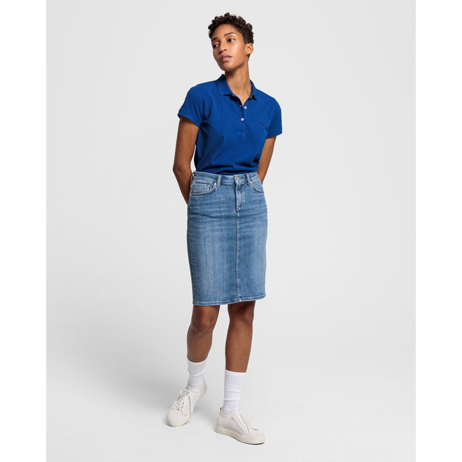 Blue Denim Skirt