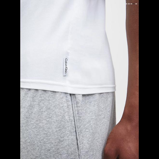 2 Pack lounge T-shirts modern cotton - White