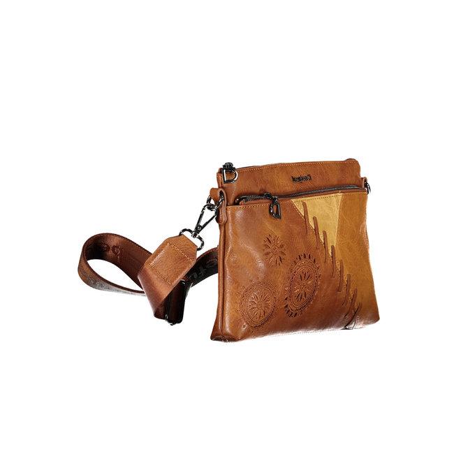 Shoulder bag with applications