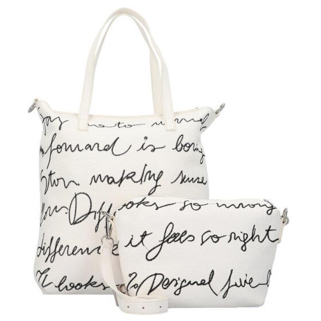 White Bolimania shopping bag