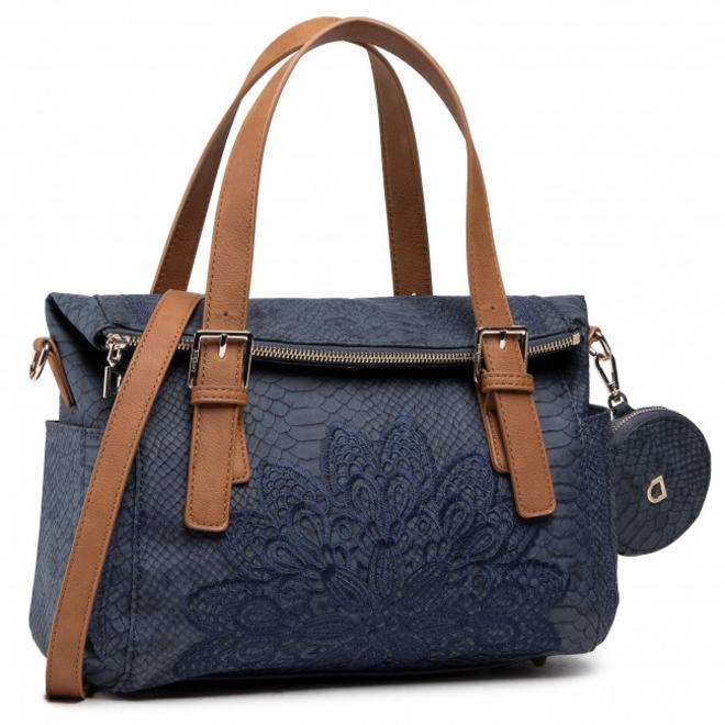Blue Mandala Handbag