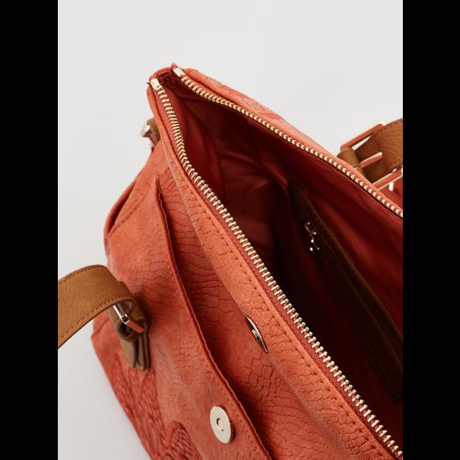 Brown Mandala Handbag