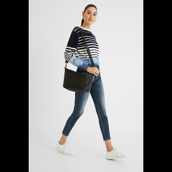 Shoulder bag double fastener