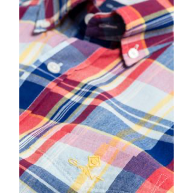 Rapture Rose Regular Fit Classic Madras Shirt men