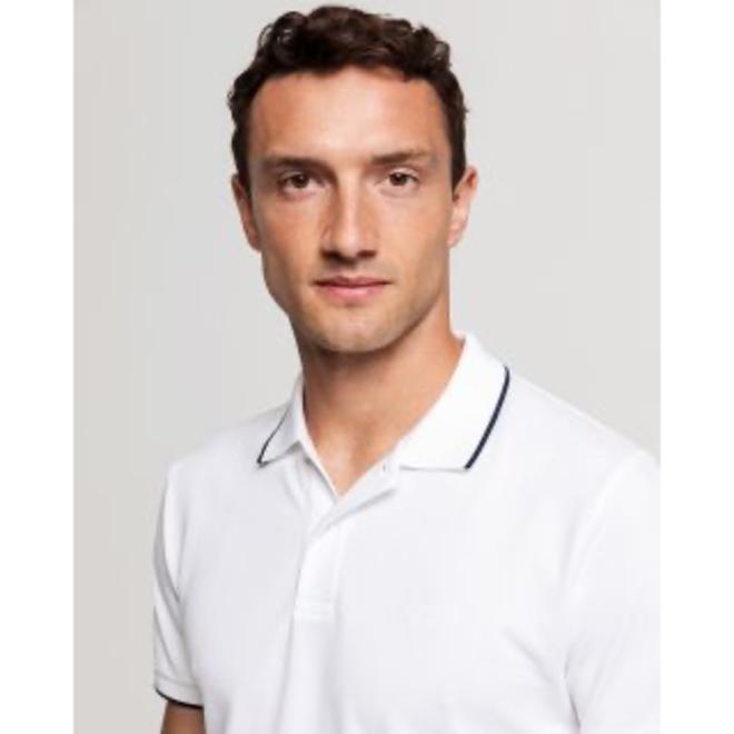 Tech Prep™ Piqué Rugger - White
