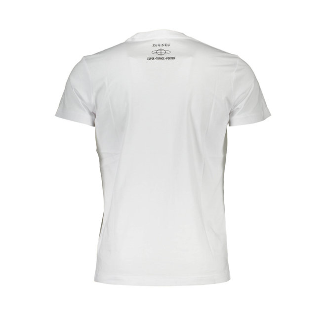 T-Shirt with circle print - White