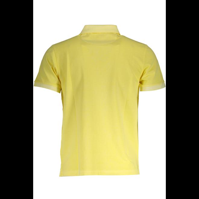 Sunfaded Piqué Rugger  -  Brimestone Yellow