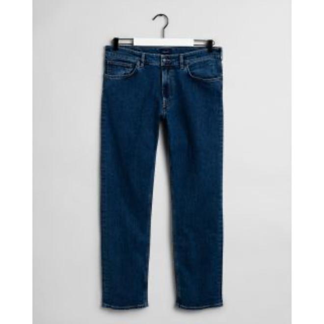 Regular Fit 11oz Jeans - Mid Blue