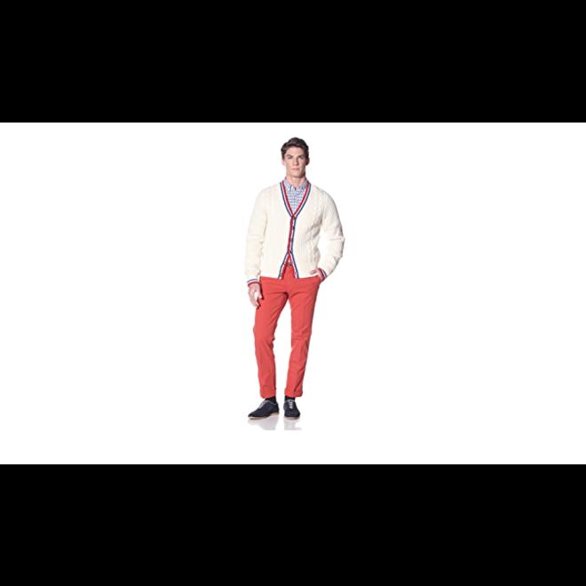 Regular Fit wool cardigan men