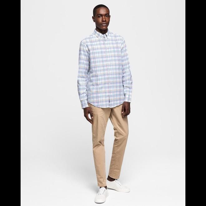 White Checkered Shirt