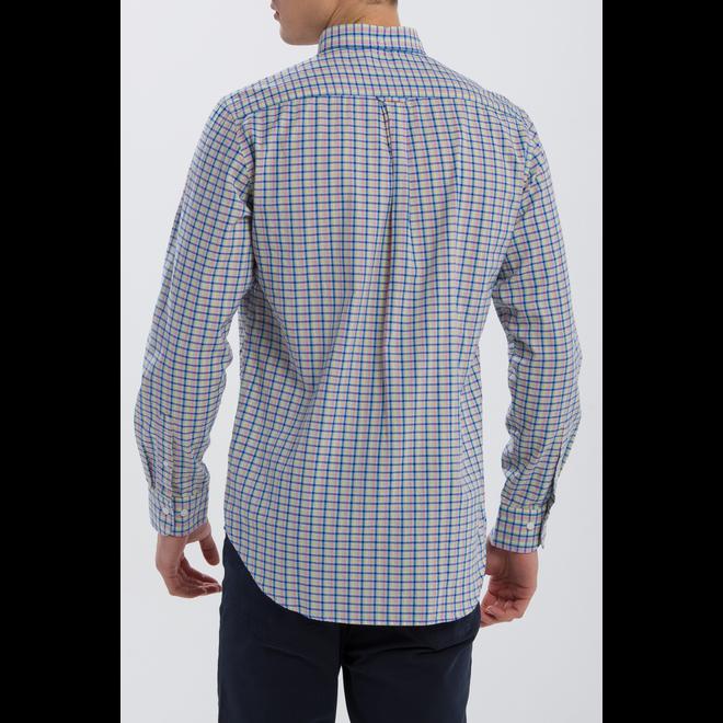Seersucker Check Regular Fit Shirt