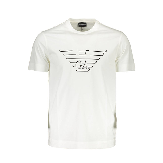 Pima cotton T-Shirt with oversized eagle