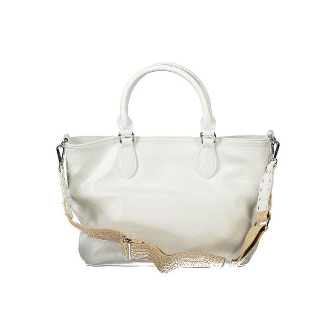 Floral handbag - White