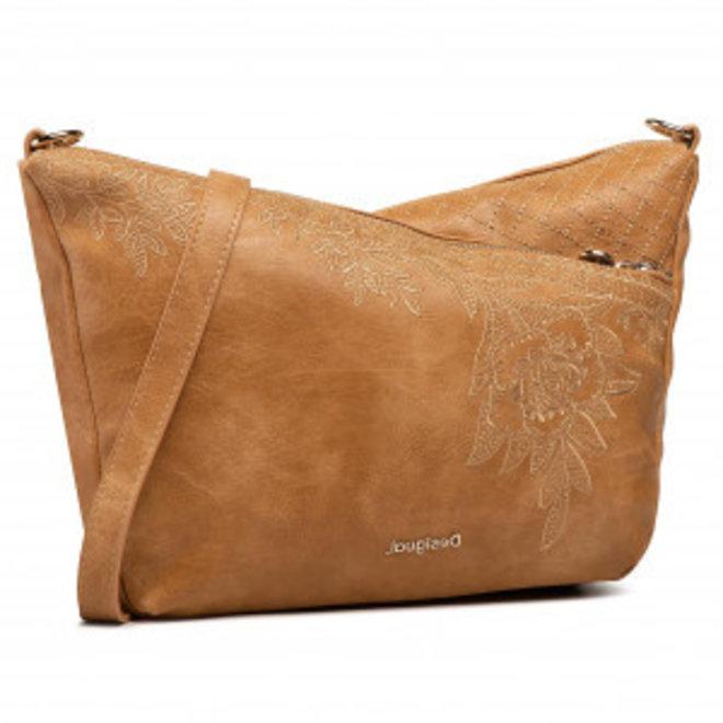 Floral crossbody bag - Beige