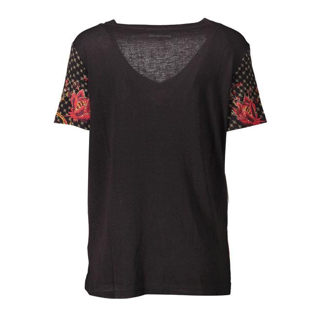 T-shirt short sleeve Black
