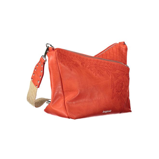 Floral crossbody bag Red