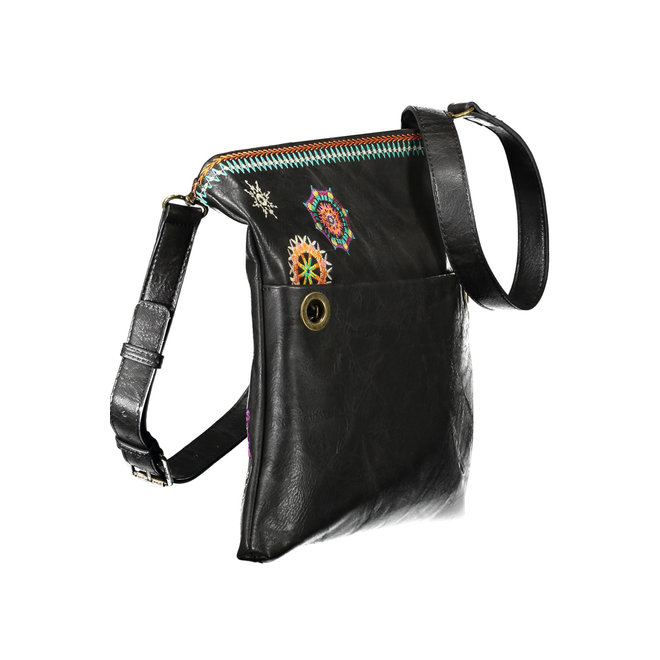 Embroidered mandalas Bag - Dark Brown