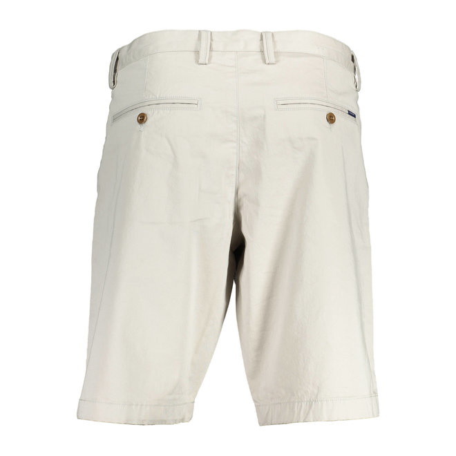 Relaxed Twill Shorts Men - Grey