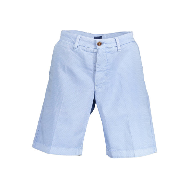 Relaxed Fit Twill Shorts - Hampton blue