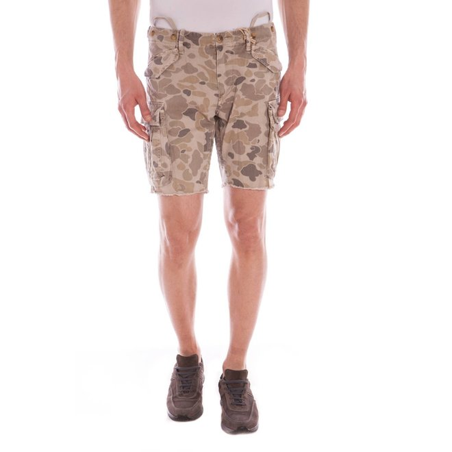 Cargo pockets Shorts Men - Camouflage Print