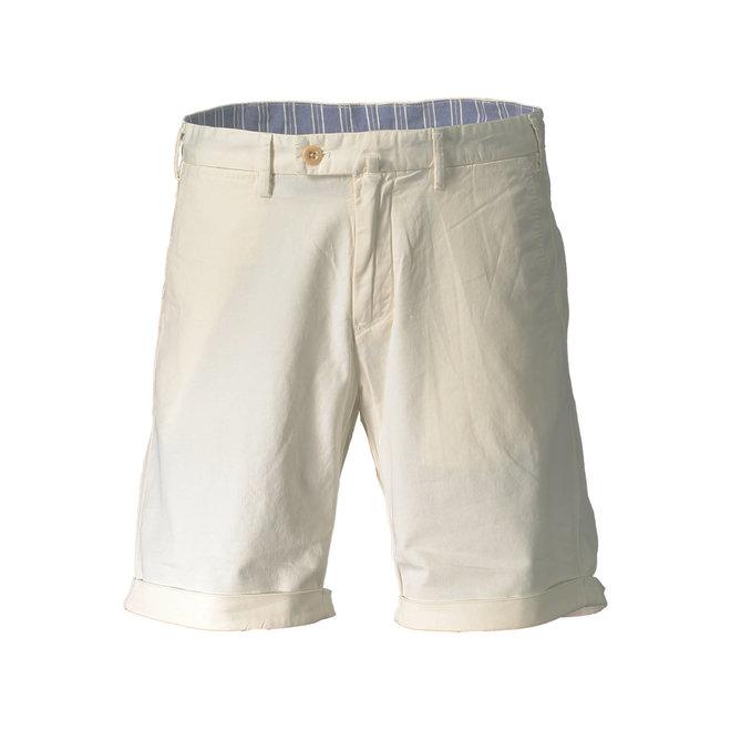 Bermuda Shorts Men - White