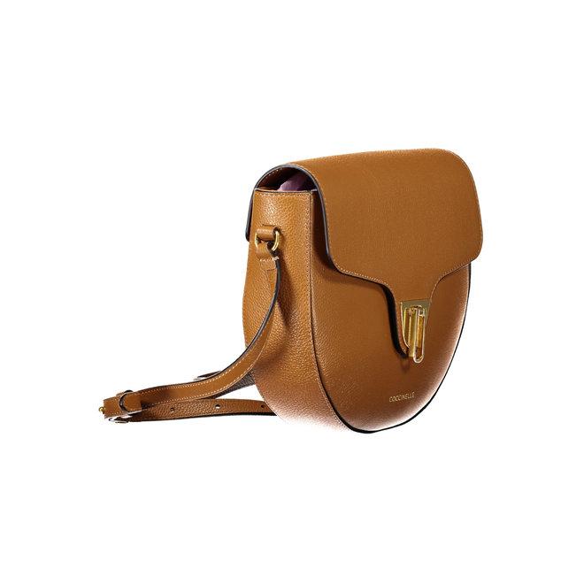 Beat Saddle Mini Soft Bag - Caramel